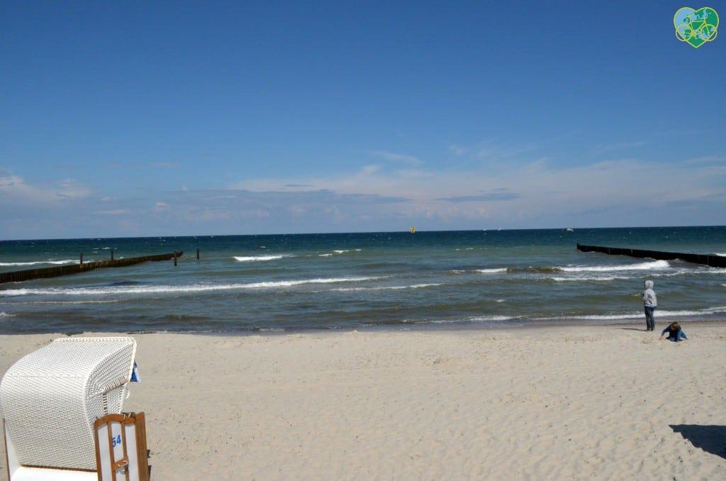 Ein perfekter tag an der Ostsee