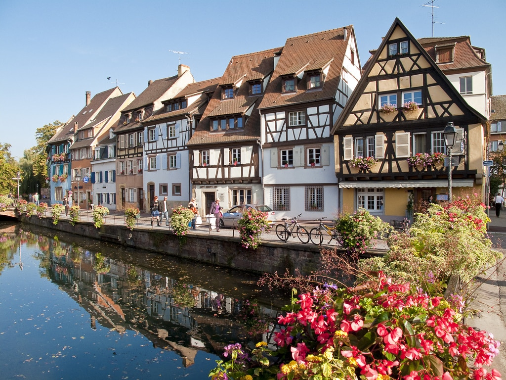 Radtour von Freiburg nach Colmar. Komm mit in's schöne Elsass!