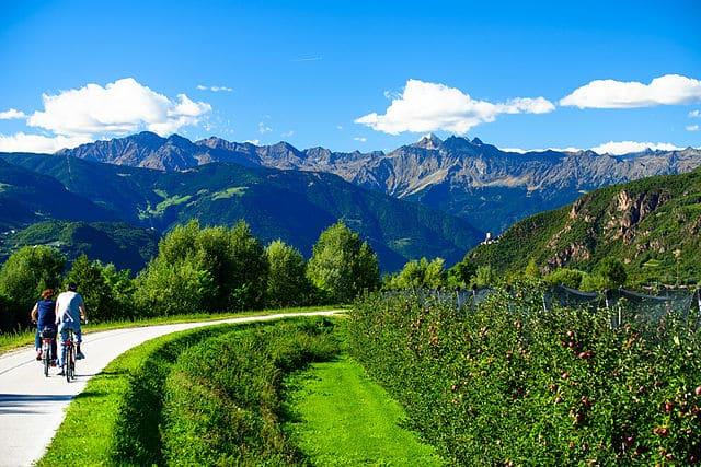 Alpencross auf der Via Claudia Augusta an die Adria