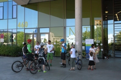 Mit Laufschuh und Fahrrad gegen den Krebs: Run & Bike
