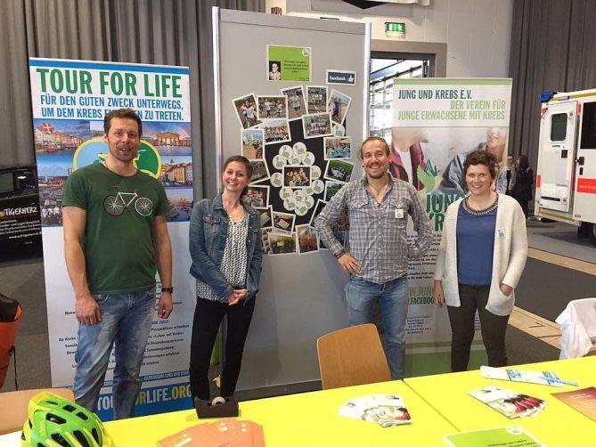 Tour for Life und Jung und Krebs Freiburg e.V. – Eine gemeinsame Sache